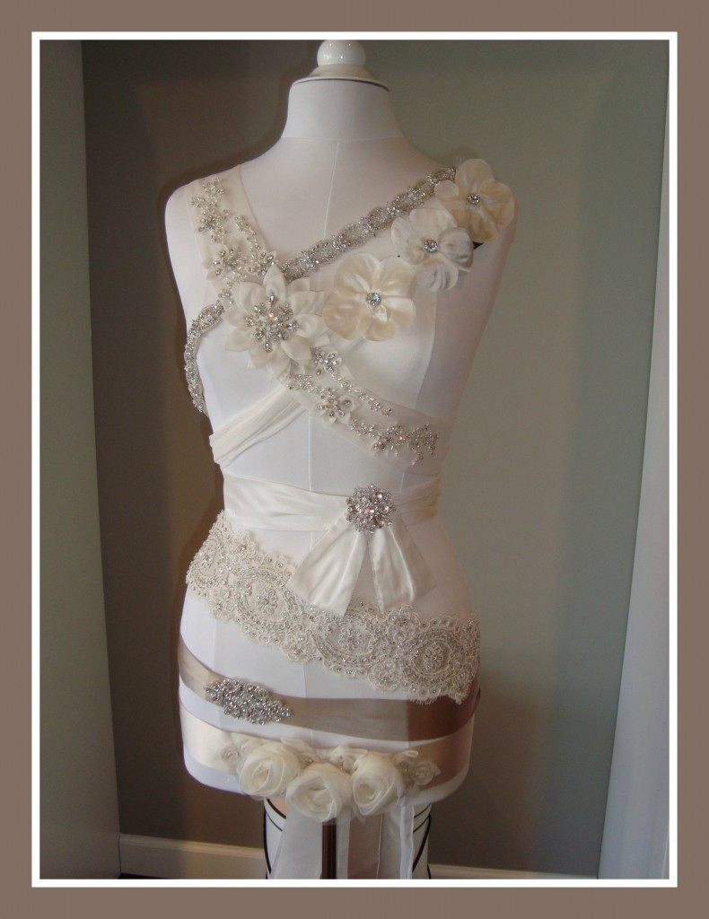 Belts from Modern Trousseau & Jenny Yoo at Ready or Knot {Wedding Chic} in Omaha, NE with wedding & bridesmaid dresses
