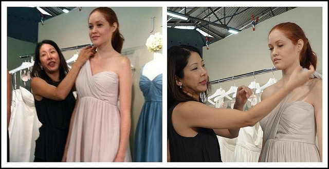 """Jenny Yoo """"Keira"""" & """"Aidan"""" bridesmaid dresses"""