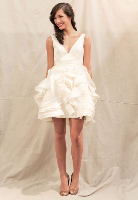 The Little (&amp Short) White Dress {Reception Dresses}  Ready or ...