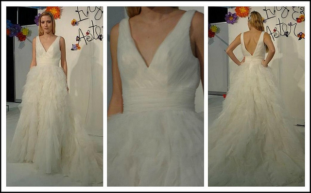 Ivy & Aster's Swan Lake wedding dress