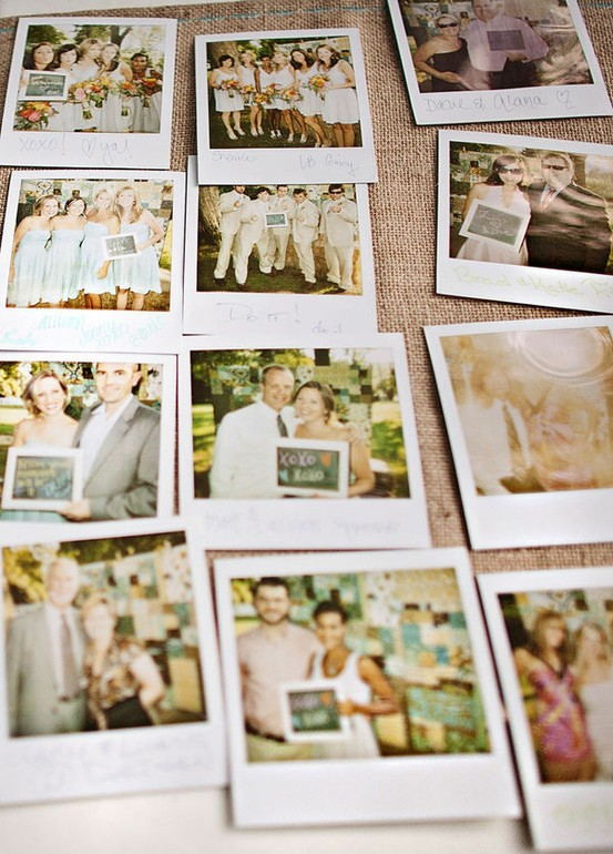 polaroid Guestbook Idea Pinterest Picks Day 2 Polaroids