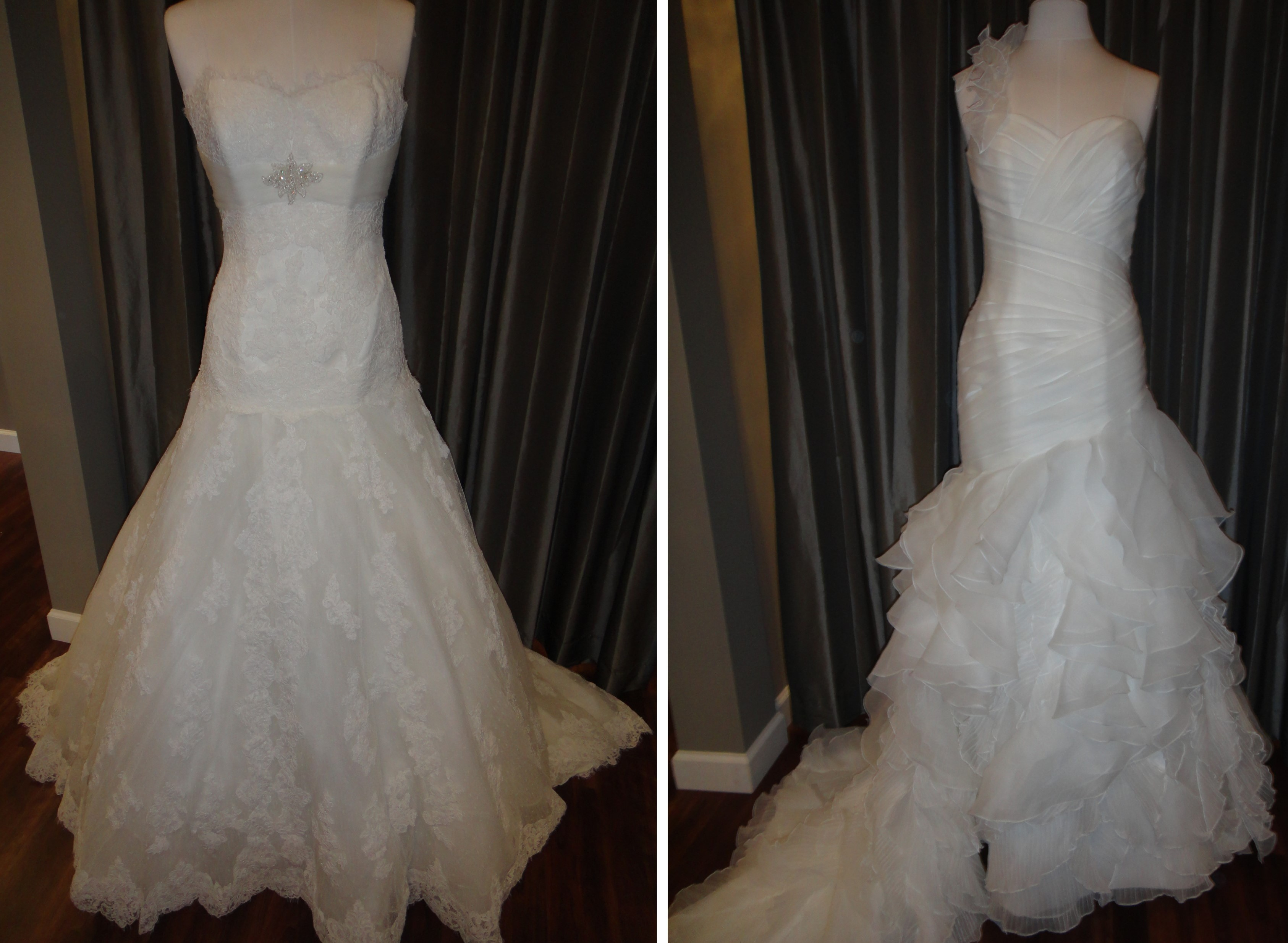 Exquisite designs by La Sposa now available at Ready or Knot