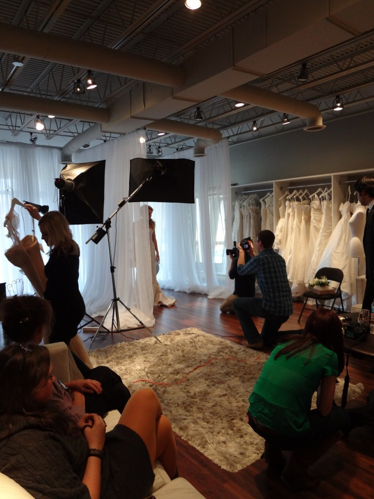 Ready or Knot {Wedding Chic} style shoot behind the scenes