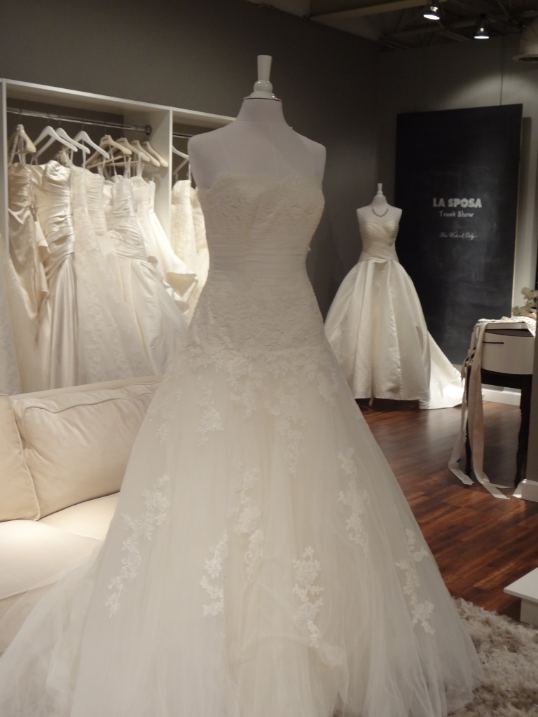 La Sposa bridal gowns are now available at Ready or Knot {Wedding Chic} in Rockbrook Village