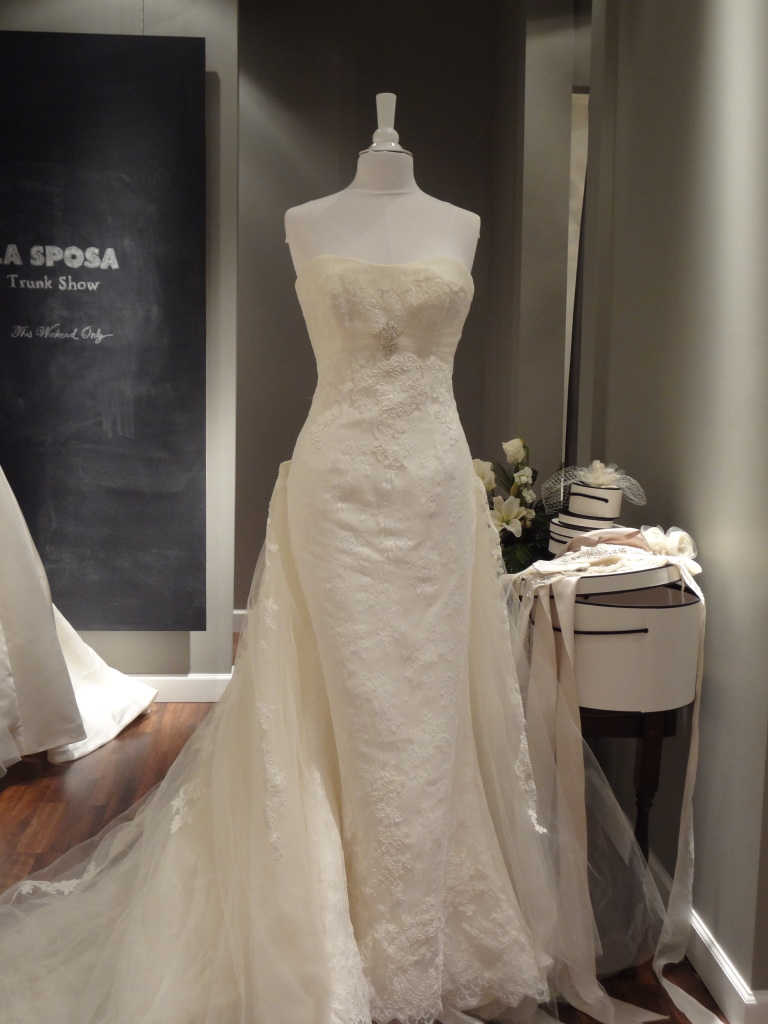 Check out all the La Sposa bridal gowns available at Ready or Knot this weekend only!