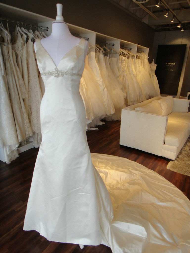 Elegant and classic La Sposa available at Ready or Knot