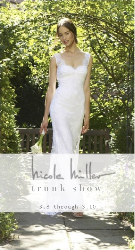 Nicole Miller Bridal Trunk Show