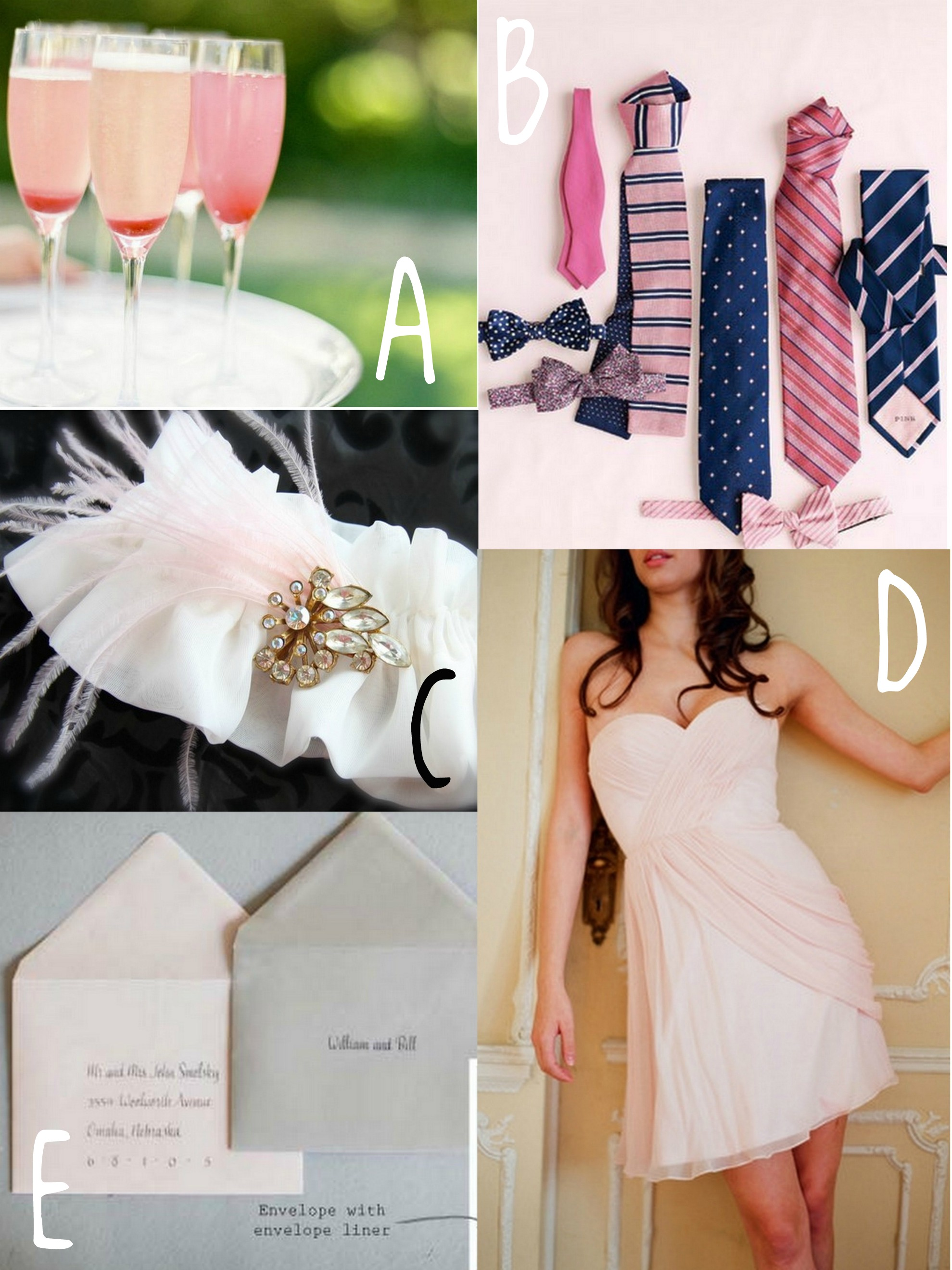 All things blush wedding