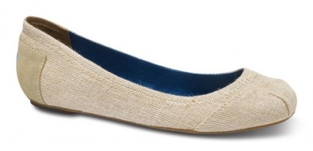 Toms makes ballet flats too!