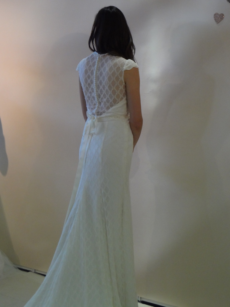 Ivy & Aster wedding gown soon available at Ready or Knot