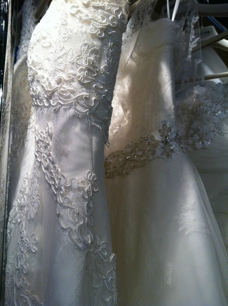 More lace wedding dresses by La Sposa