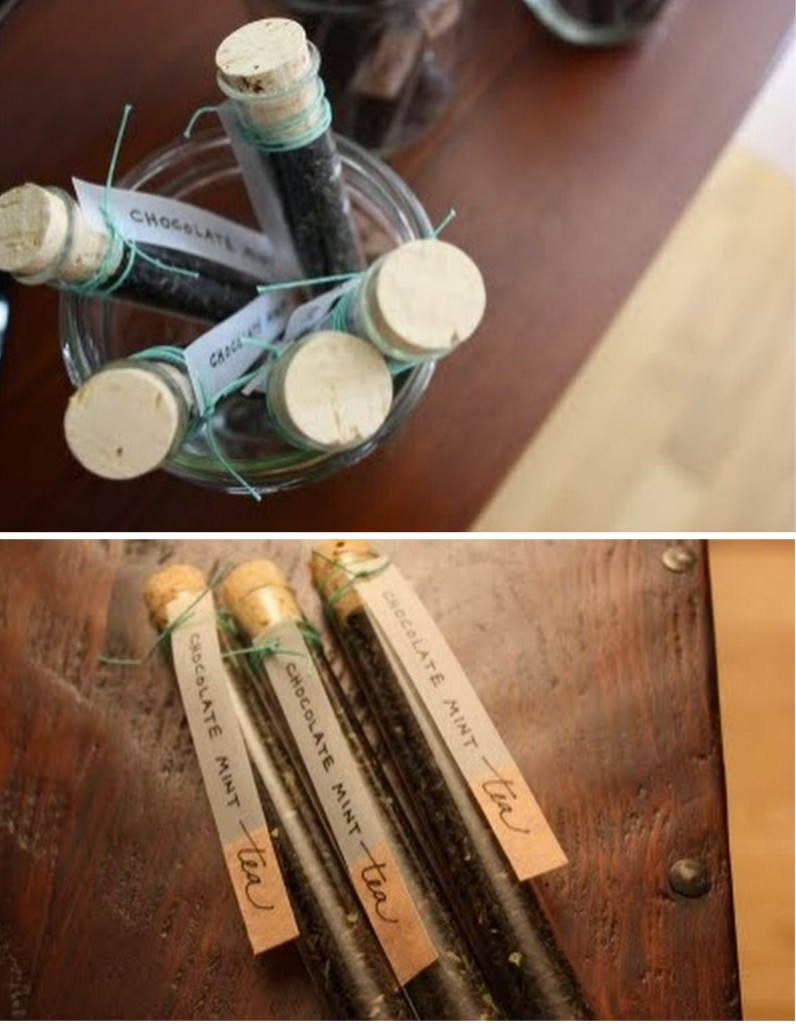 Creative wedding favor
