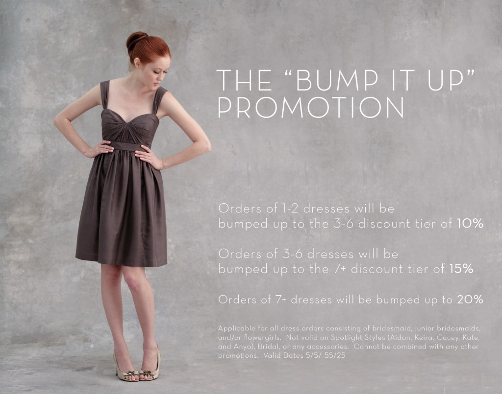 Jenny Yoo Bridesmaid Promo