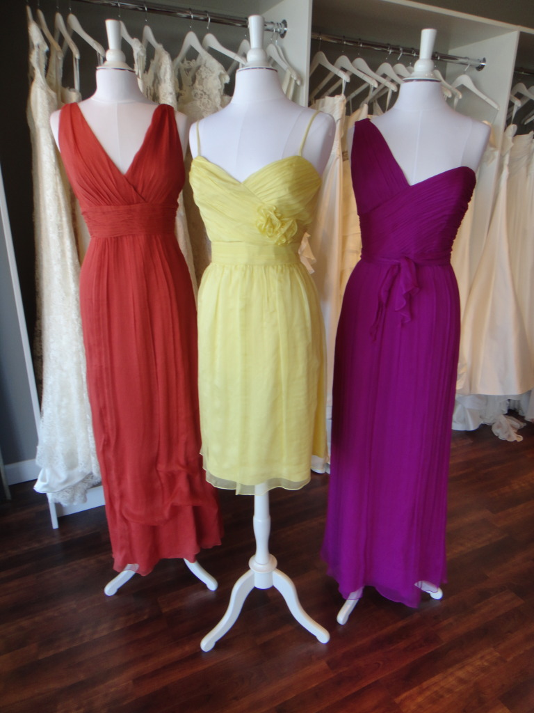 Amsale Bridesmaid Dress Trunk Show | Ready or Knot | Omaha Bridal Shop
