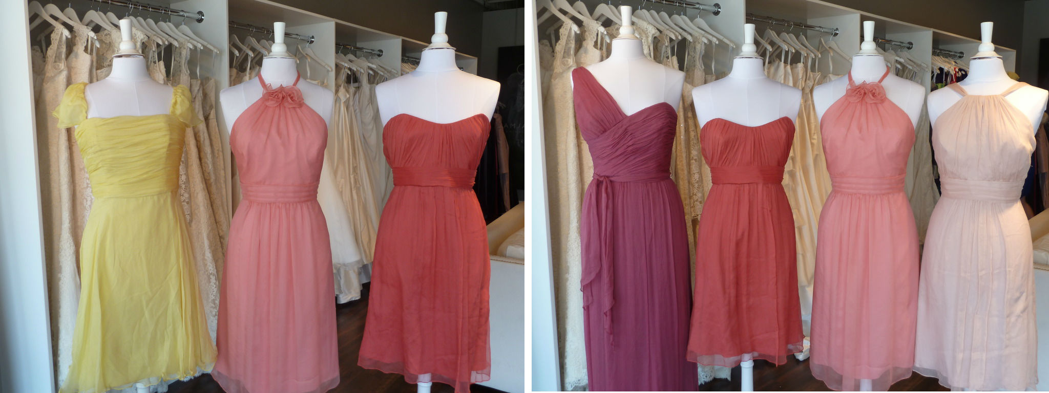 Amsale bridesmaids color combos ready or knot omaha bridal shop amsale bridesmaids color combos ombrellifo Images