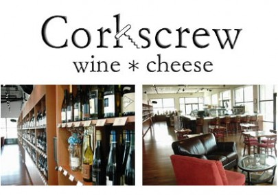 Corkscrew Wine & Cheese, located in Omaha, Rockbrook Village