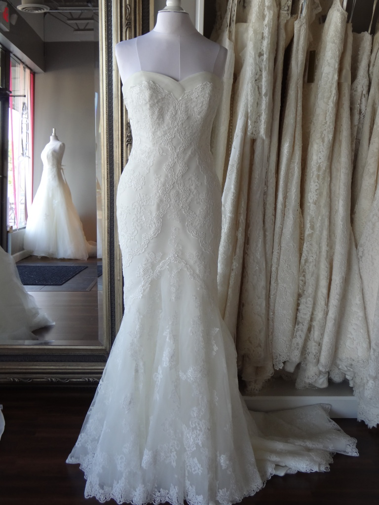 Mullet by La Sposa, available at Ready or Knot, Omaha Ne
