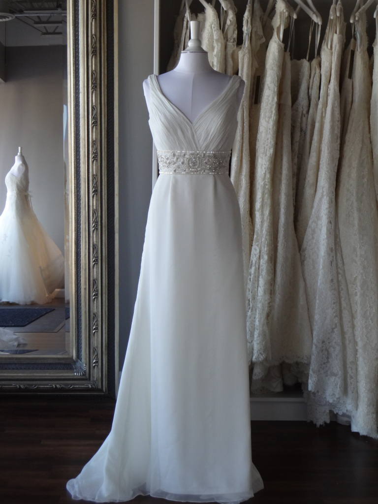 Muriel by La Sposa, available at Ready or Knot, Omaha, Ne