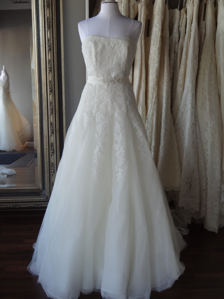 Miquela by La Sposa, available at Ready or Knot, Omaha, Ne