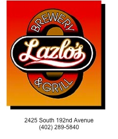 Lazlo's located in Omaha, Ne