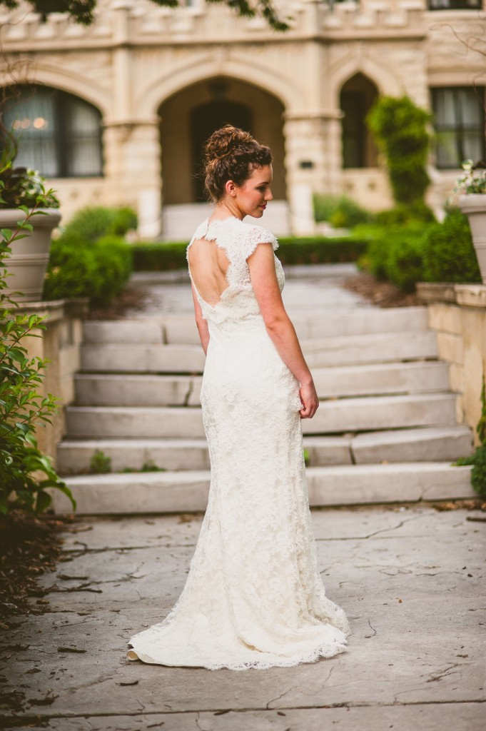 Nebraska Wedding Day featured a Ready or Knot Gown
