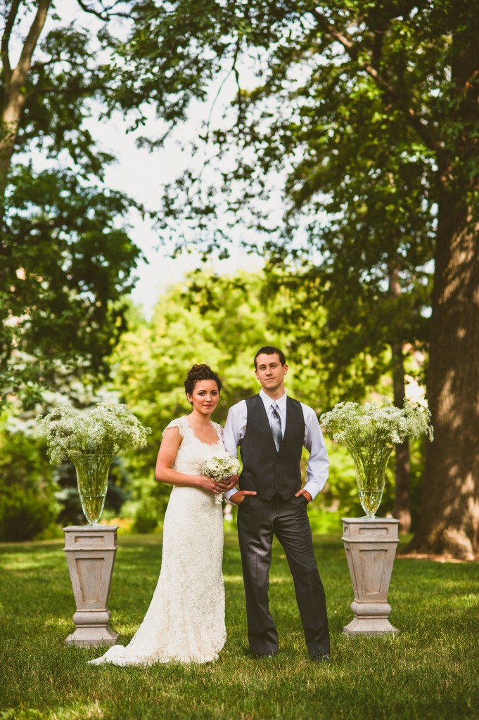 Nebraska Wedding Day featured a Ready or Knot gown in their blog