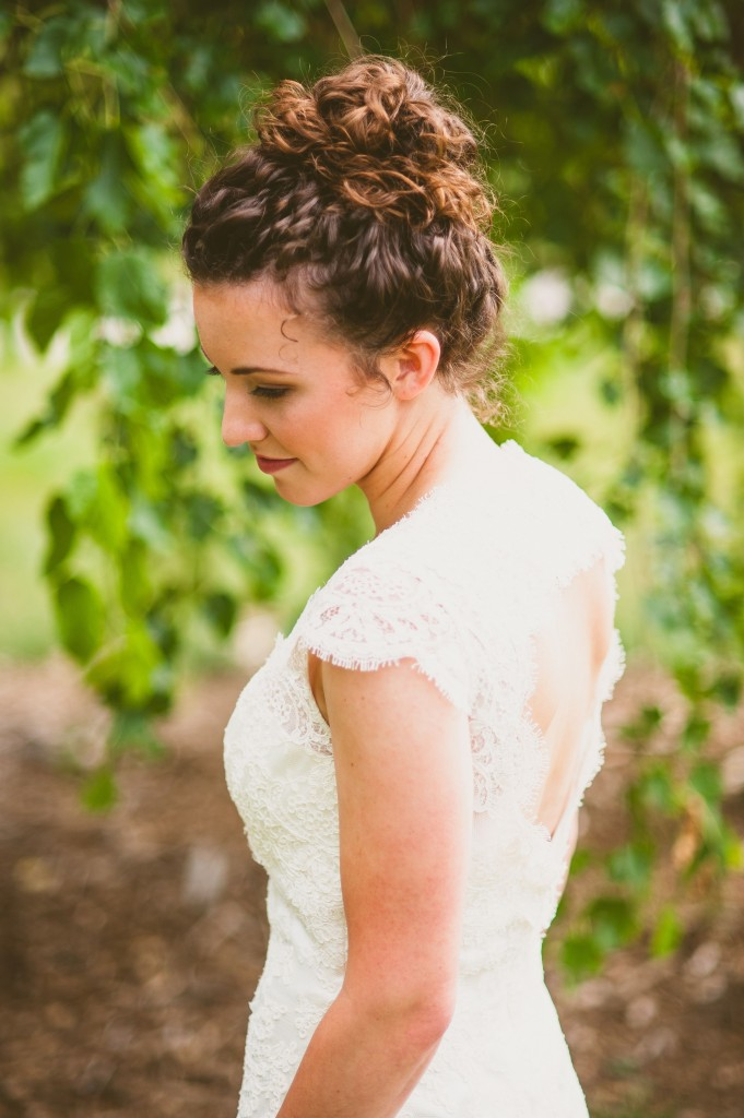 Nebraska Wedding Day featured a gown from Ready or Knot