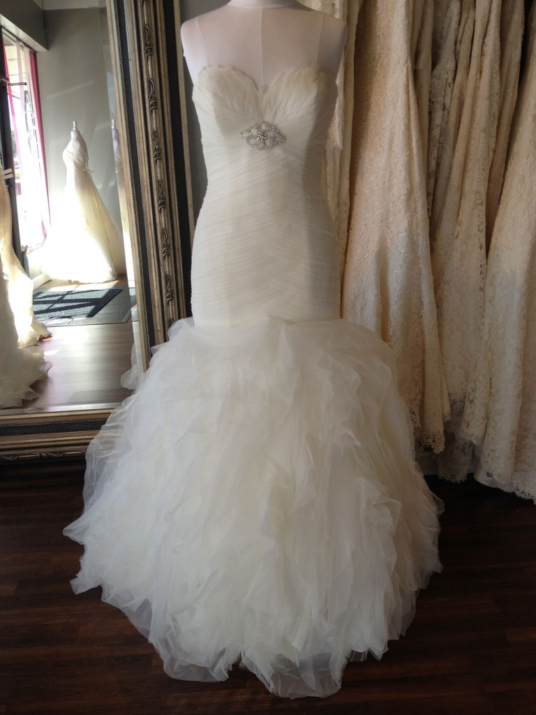 Mirra, La Sposa 2013 Wedding Dress, available at Ready or Knot, Omaha