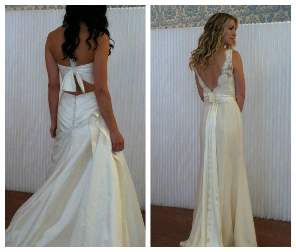 Modern Trousseau Back Details