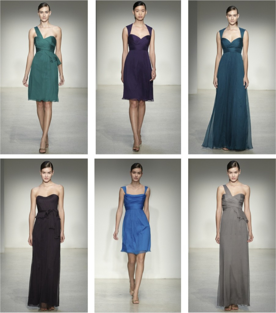 New Amsale Bridesmaid Colors