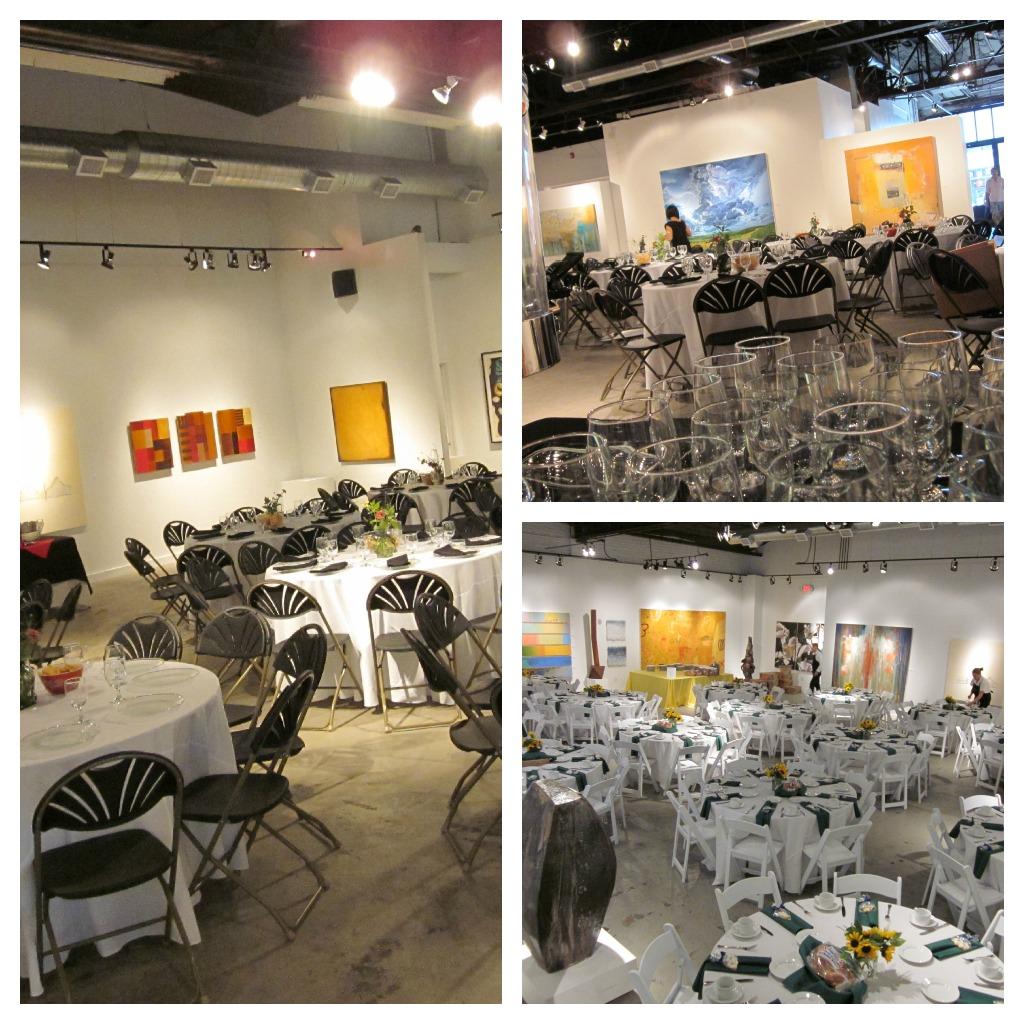 Wedding Reception Venue Anderson Obrien Fine Art Gallery Ready