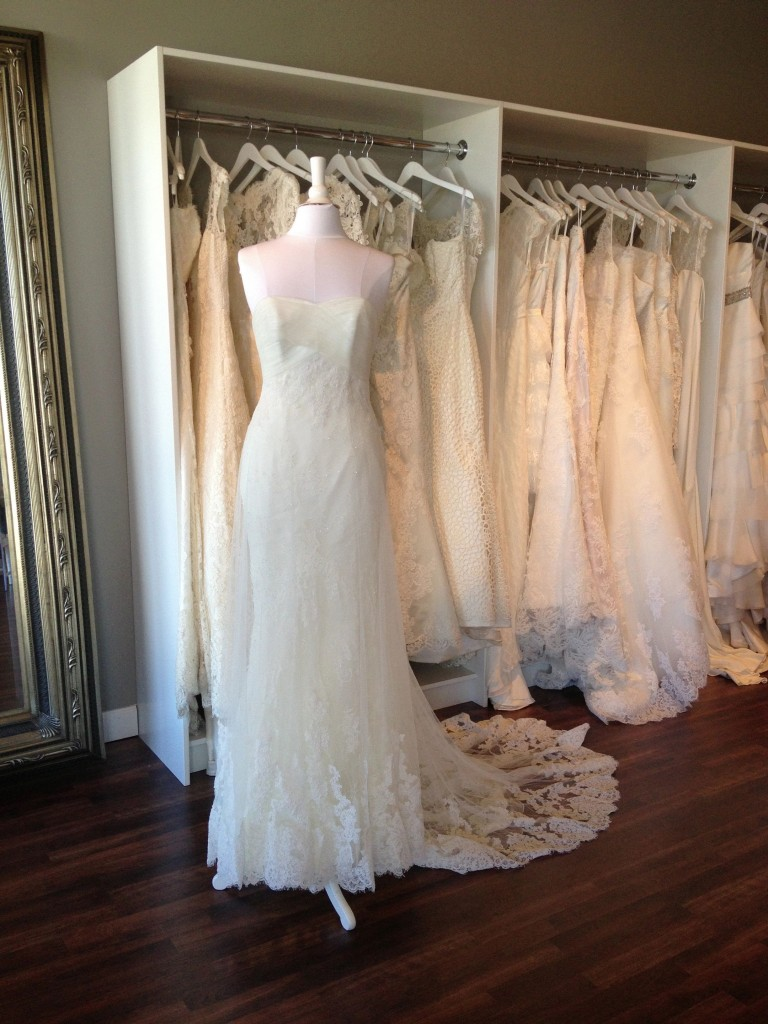 La Sposa wedding dress, Denia, Available at Ready or Knot, Omaha, Ne