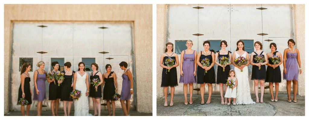 Ready or Knot Bridesmaids - Alissa & Nate, Amsale Bridesmaid Dresses, available at Ready or Knot