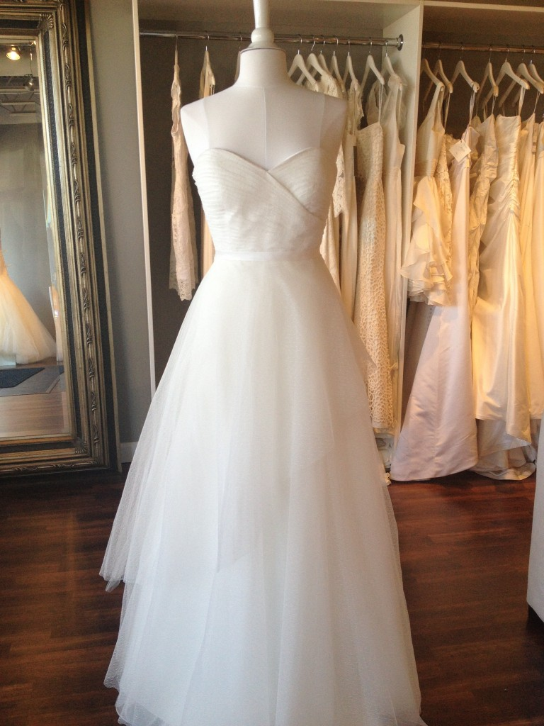 Georgeanne, Jenny Yoo Wedding Dress, available at Ready or Knot, Omaha, NE