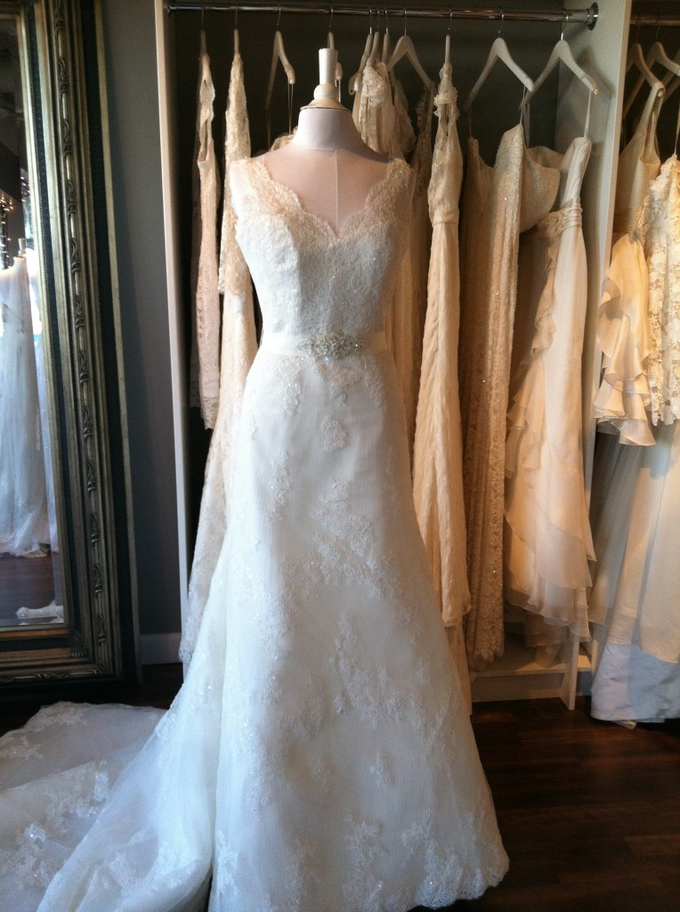 La Sposa Trunk Show Dress, Ready or Knot, Omaha, NE