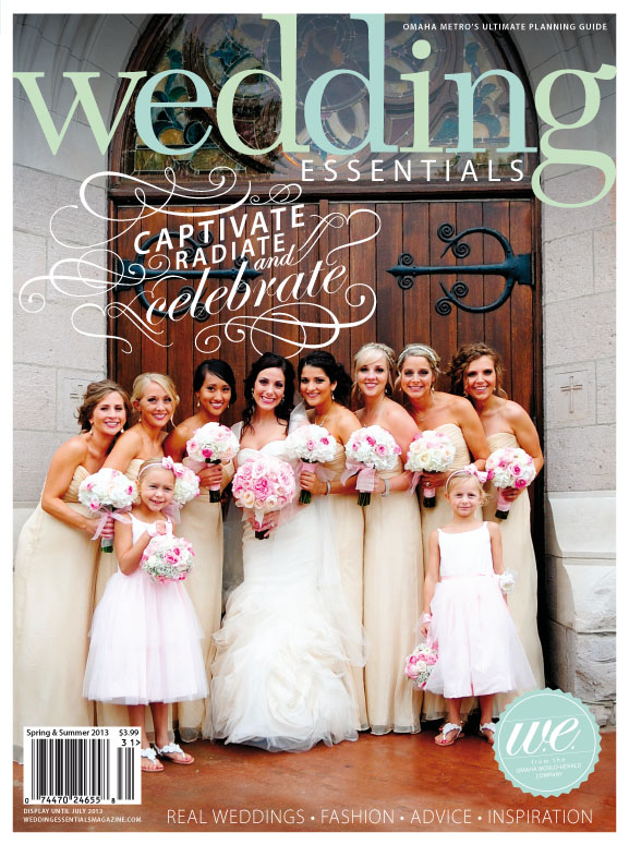 Wedding Essentials Cover, Amsale Bridesmaid Dresses from Ready or Knot, Omaha, NE