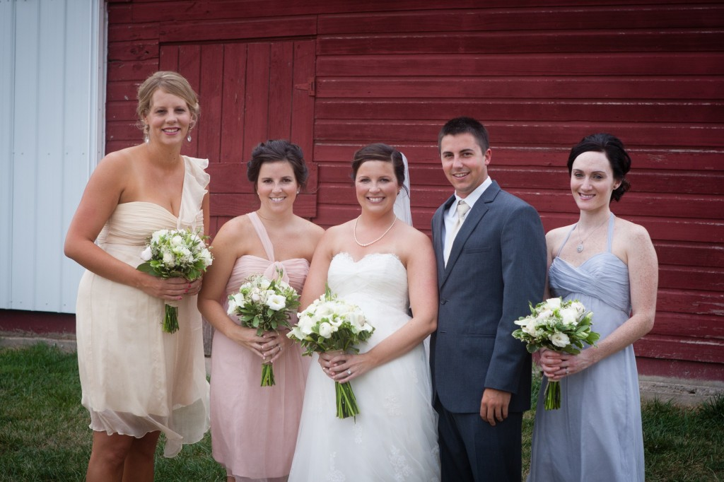 Ready or Knot Bridesmaids, Amsale bridesmaid dresses, available at Ready or Knot, Omaha, NE