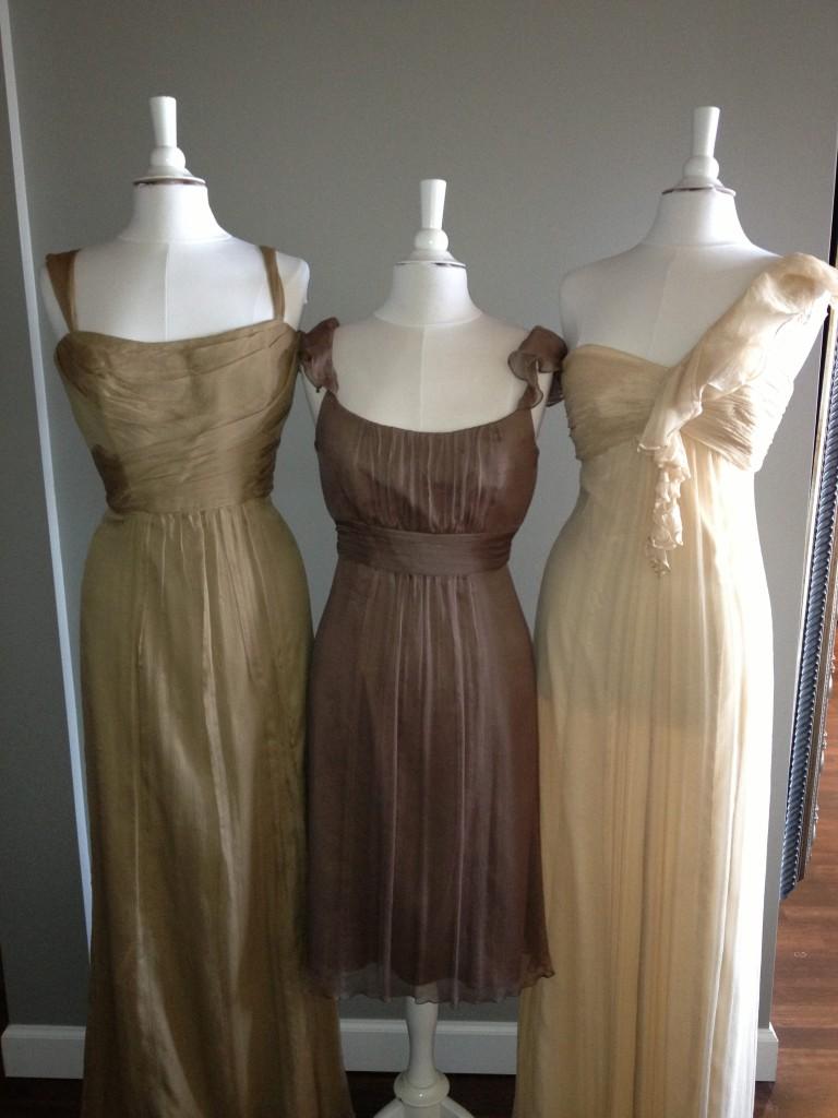 Amsale Bridesmaid Dresses, Cashmere, Truffle & Vanilla