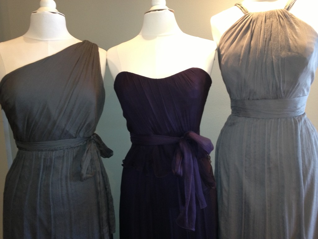 Amsale Bridesmaid Dresses, Charcoal, Ink & Graphite