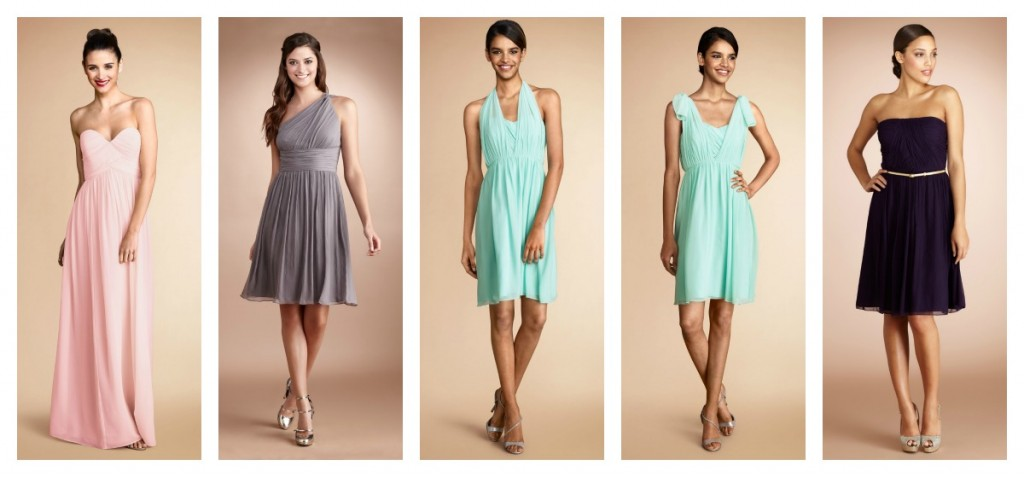 Donna Morgan Bridesmaid Dresses, Available at Ready or Knot, Omaha, NE