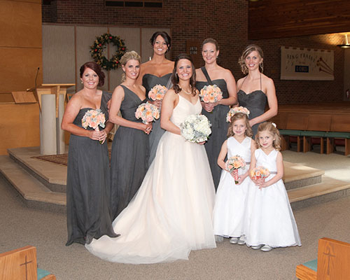Ready or Knot Bride & Bridesmaids - Ellen