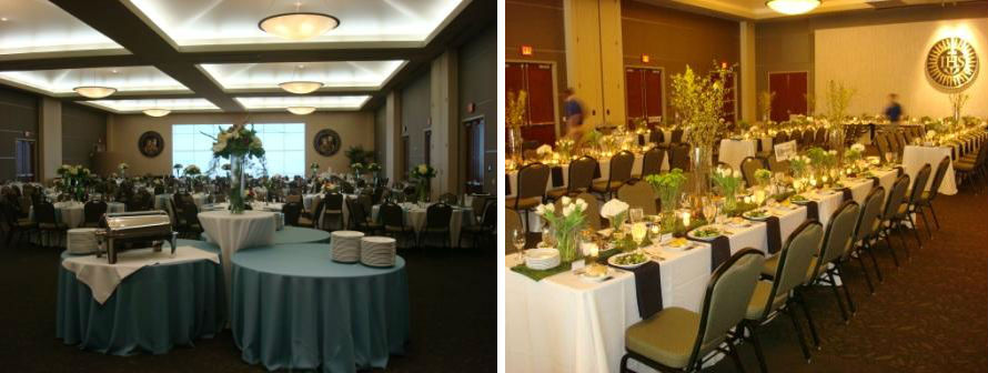 Harper Ballroom Setup