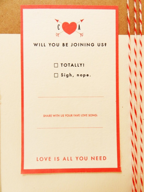 rsvp card  pinterest picks