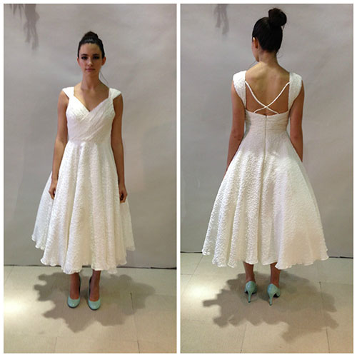 Ivy & Aster, bridal market short dress