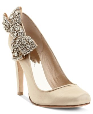 Sabrena Bling Bow Pump
