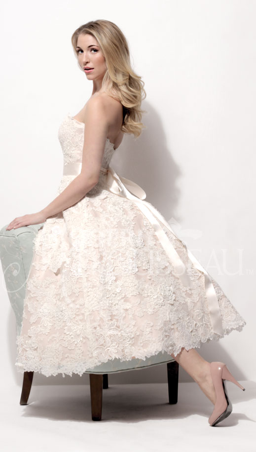 Annie lace dress by Modern Trousseau