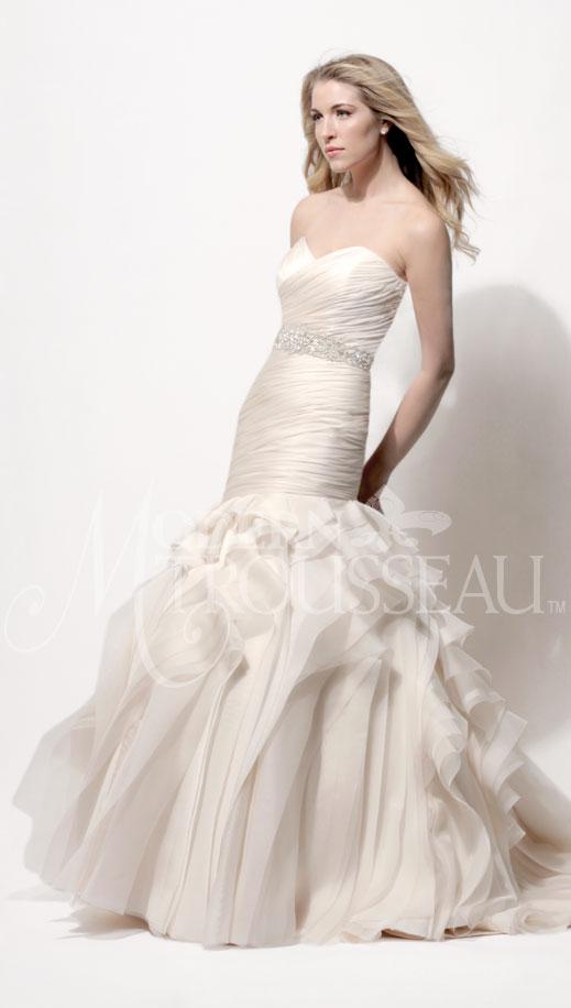 Tanner mermaid wedding dress by Modern Trousseau