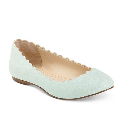 Blue by Betsey Johnson Flat
