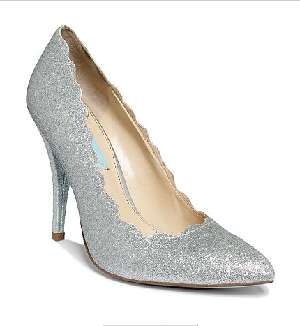 Blue by Betsey Johnson Pump