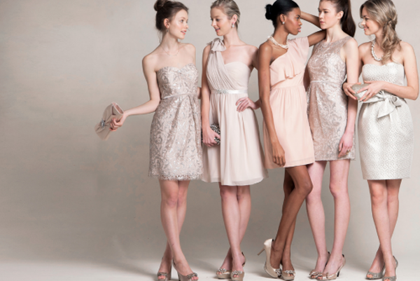Jenny Yoo neutral bridesmaid dresses